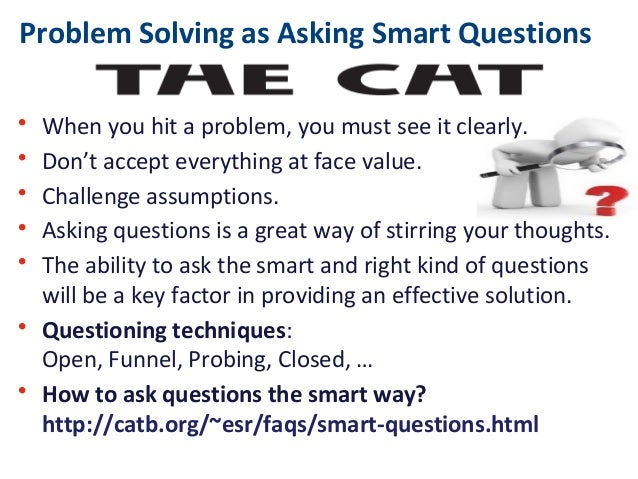 problem solving questions Explore common problem solving interview questions and learn the answers that employers are looking for.