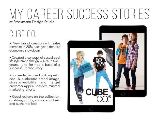 my career success stories