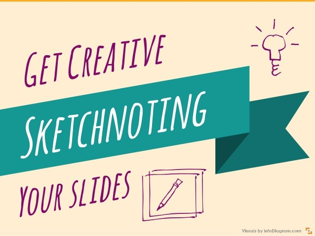 Get Creative Sketchnoting Your Presentation Slide 1