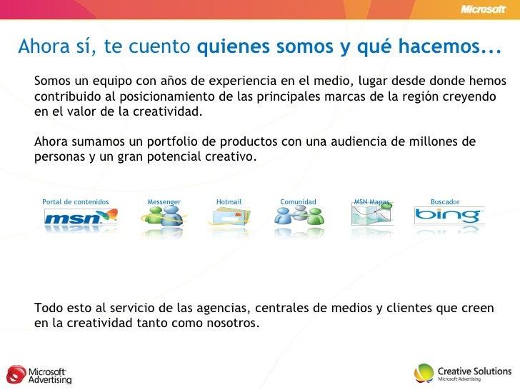 Microsoft Advertising - Creative Solutions Slide 3