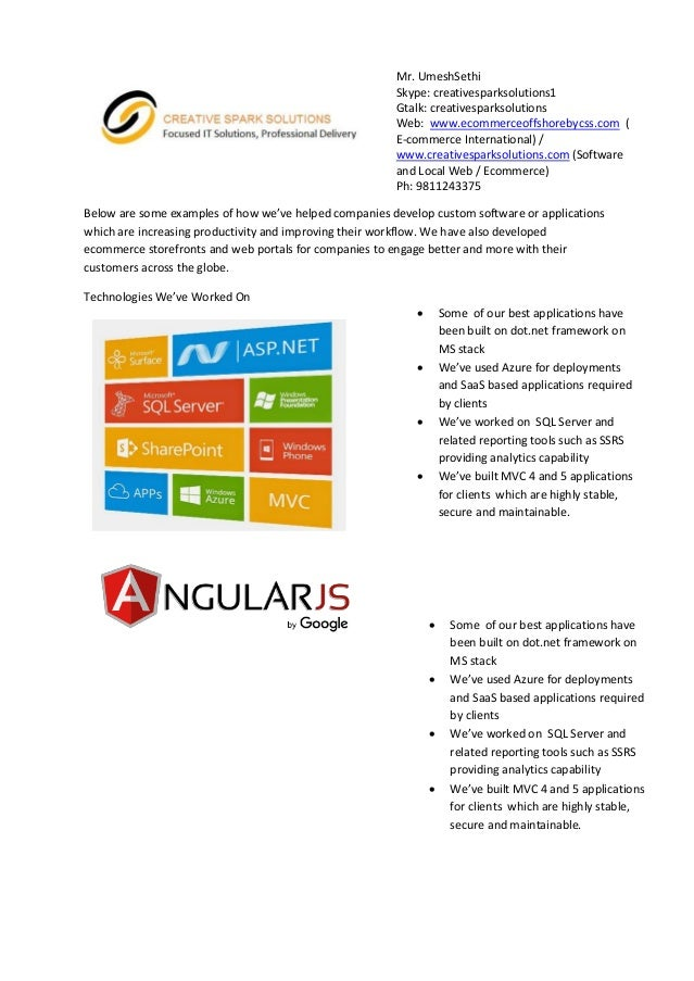 Below are some examples of how we've helped companies develop custom software or applications which are increasing product...