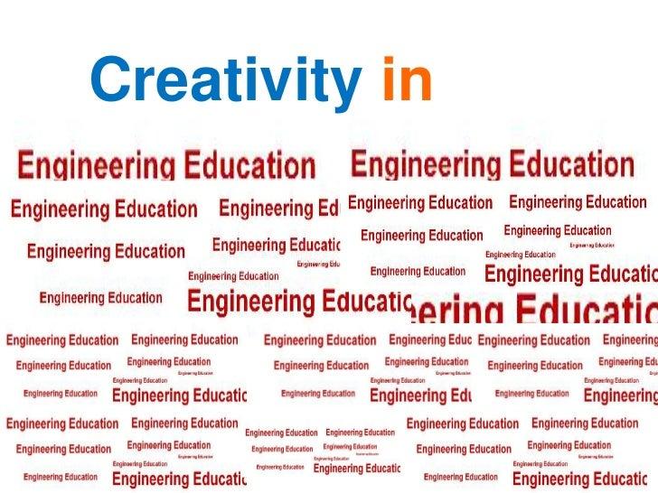 Creativity in<br />