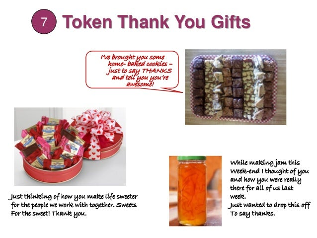 gifts of donations