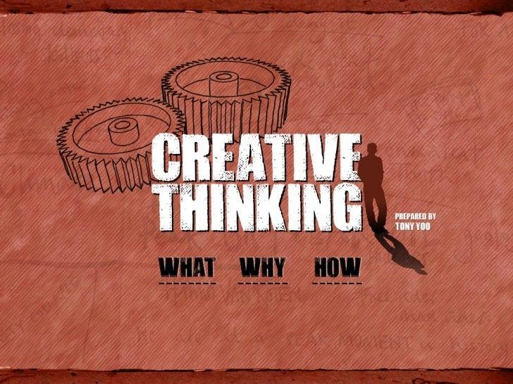 creativity ppt presentation