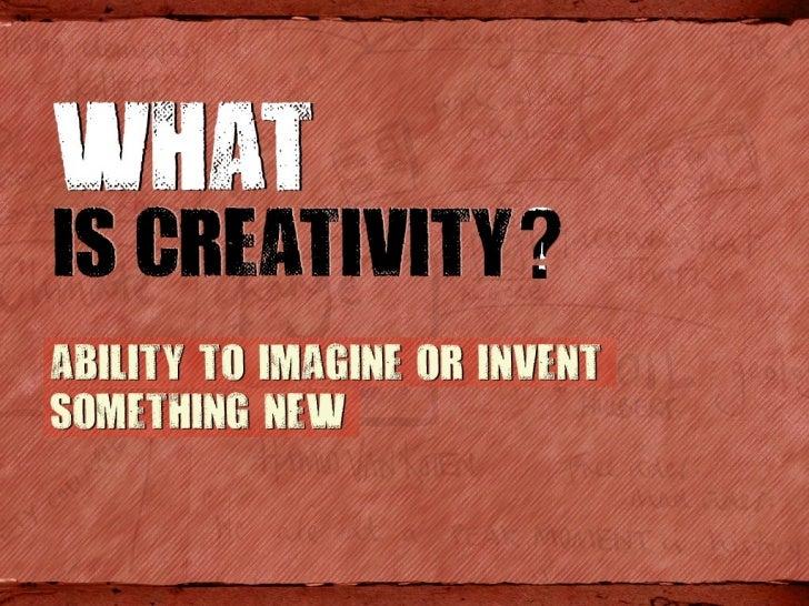 Creative Thinking Slide 2