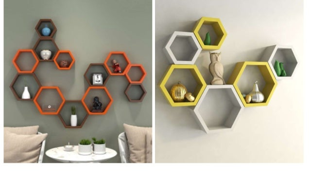 Creative Wall Shelves Designs For Home Decor Designwud