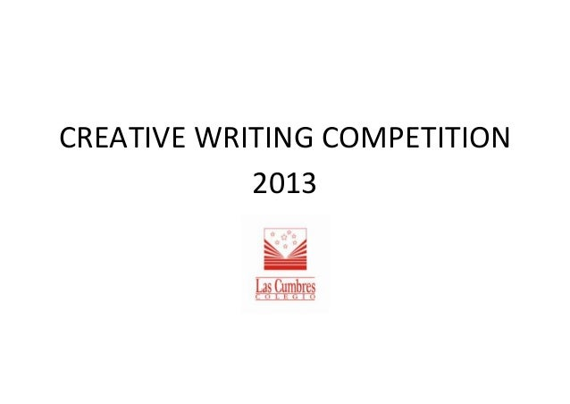 Creative Writing Contests & Competitions