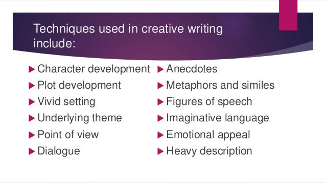 English writing techniques