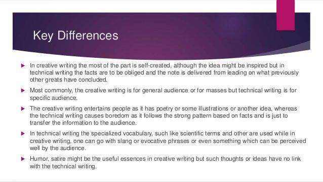 Business Writing vs Technical Writing
