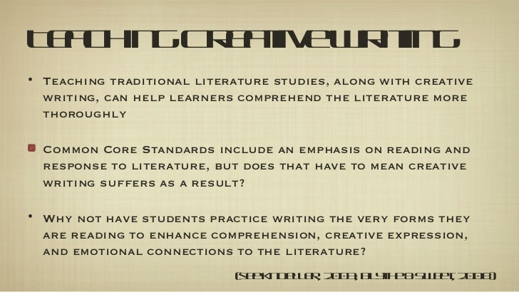 learning outcomes for creative writing Find learning and teaching  cognitive and creative skills involving the use  when writing course learning outcomes you might find it useful to keep in mind.