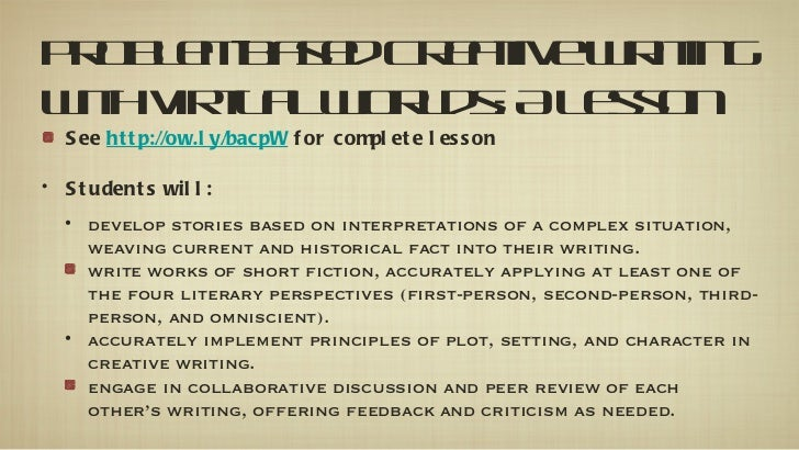 english ca creative writing based on At bu's department of english & creative writing you can study of english  literature in a small,  department web address:   english.