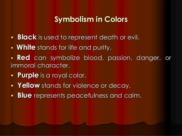 Poems With Color Symbolism Creativepoem