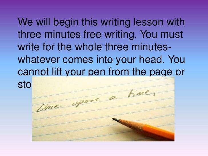 creative writing class syllabus middle school