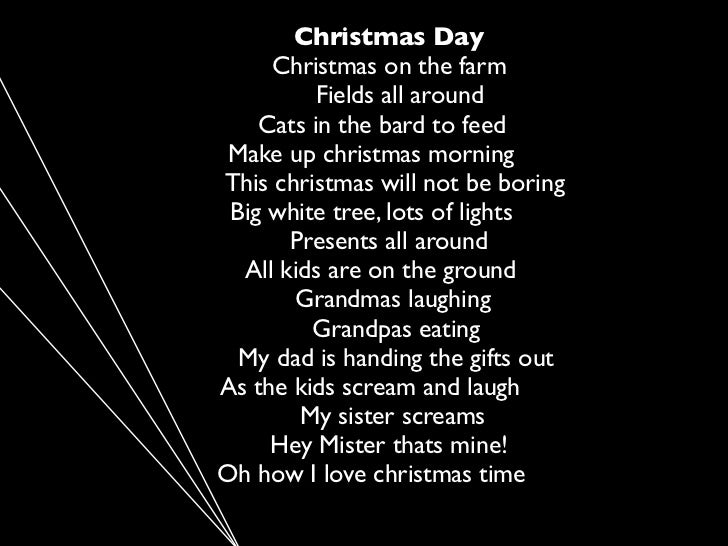 essay of christmas day For me christmas start the day i putted my christmas three, a party on christmas eve and the day of christmas the day after thanksgiving is wen my family and me putted our christmas three my christmas three was a 7-foot tall three, smell really good, and is really big.