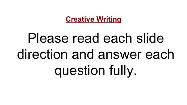 Creative Writing Presentation kvanko