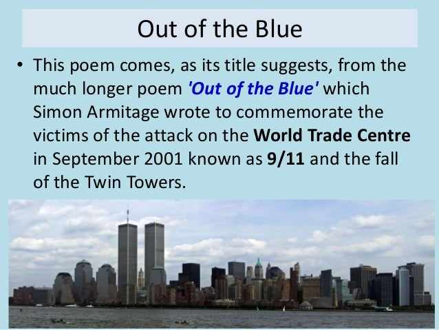 creative writing out of the blue Out of the blue poem creative writing best poems and quotes from famous poets out of the blue poem creative writing often, people turn to writing verse at times of great emotion, insight, or need.