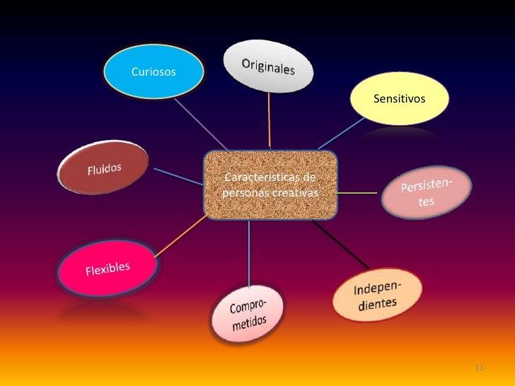 Curiosos                                Sensitivos           Características de           personas creativas              ...