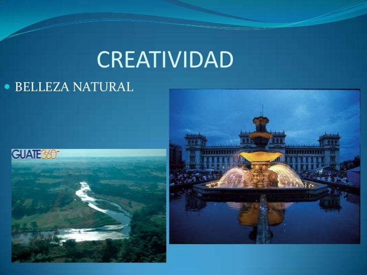 CREATIVIDAD BELLEZA NATURAL
