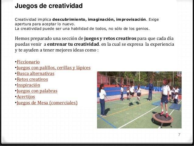 8 Niveles de creatividad •Creatividad Mimética •Creatividad Bisociativa •Creatividad Analógica •Creatividad Narrativa •Cre...