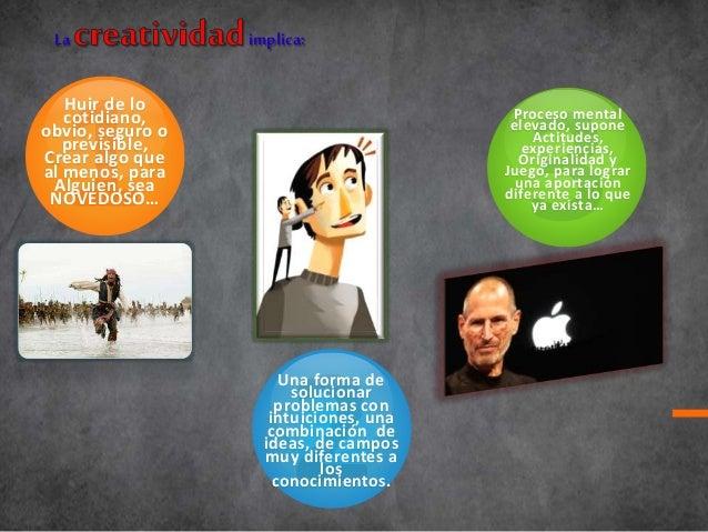 OBSTACULOS Y BLOQUEOS DEL PENSAMIENTO CREATIVO Slide 3
