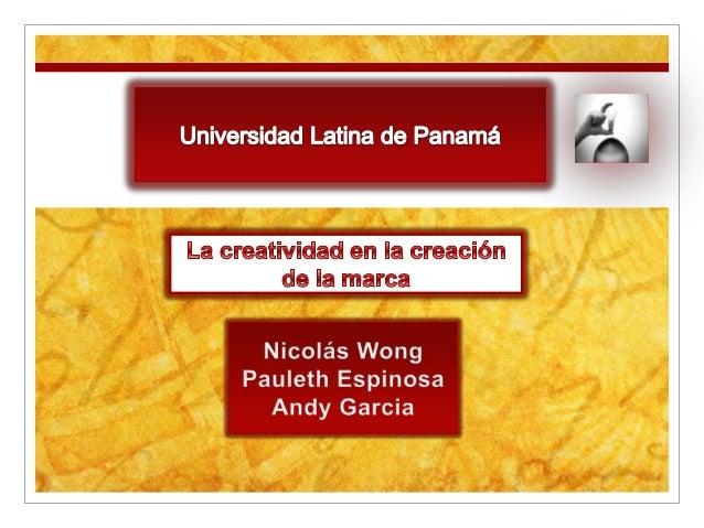 Que es la CreatividadEs la producción de una idea, un concepto, una      creación o un descubrimiento que es nuevo, origin...