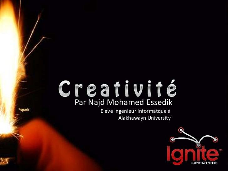 Par Najd Mohamed Essedik<br />EleveIngenieurInformatque à Alakhawayn University<br />