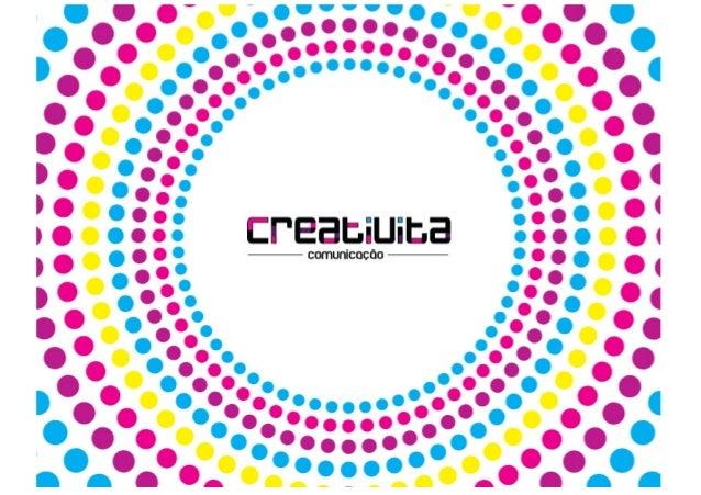 A Creativita é um estúdio de criação e design que trabalha com branding e identidade visual. A rotinacomercial de muitas e...