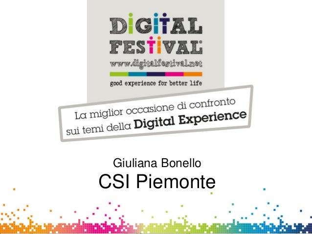 Giuliana BonelloCSI-PiemonteGiuliana BonelloCSI Piemonte