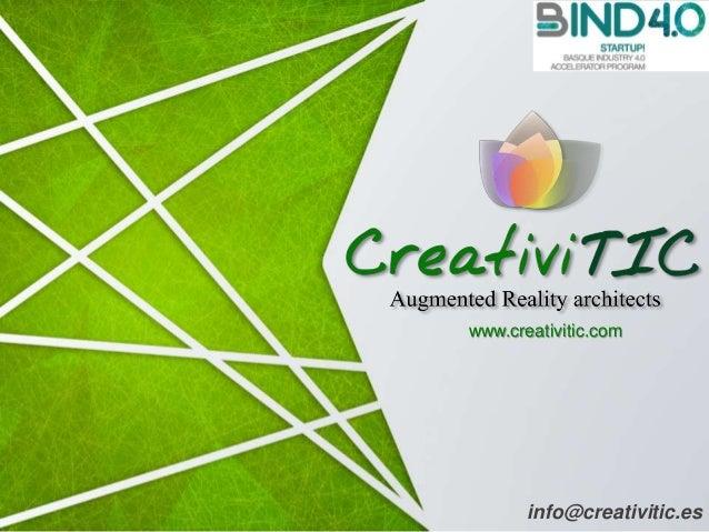 info@creativitic.es www.creativitic.com