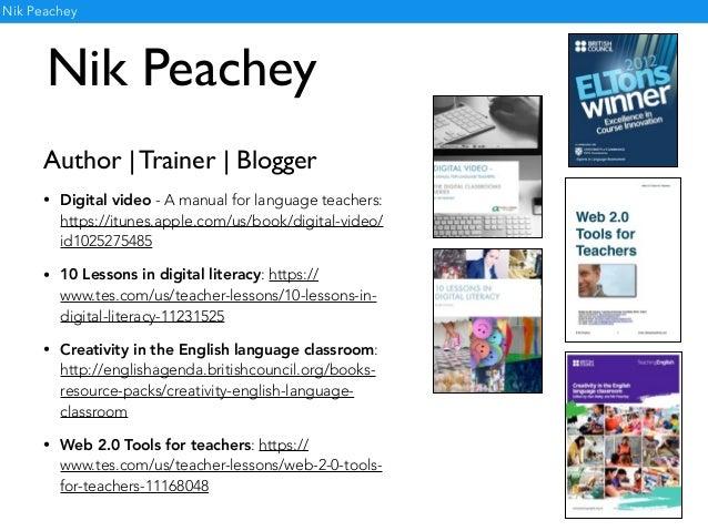 Creativity in the English language classroom Slide 2