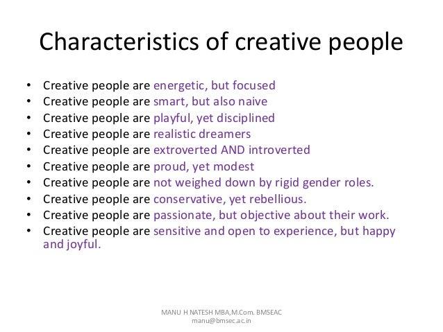 ผลการค้นหารูปภาพสำหรับ Creative People Are Energetic, but Focused