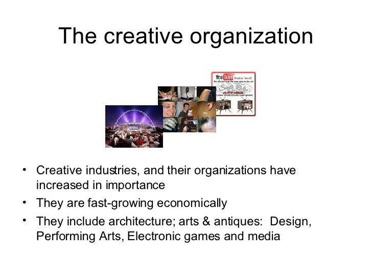 Creative Organization creativity in management