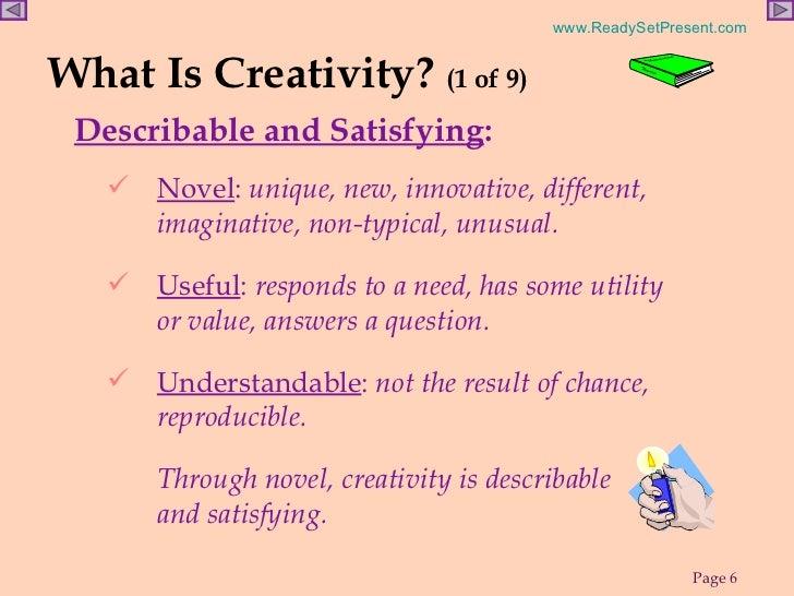 creativity powerpoint