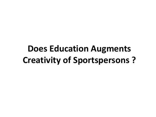 Intersection of Creativity and Sports