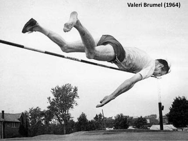 Dick Fosbury (1968) Dick Fosbury turned the proven technique in the sport of Long Jump quite literally upside down, and le...