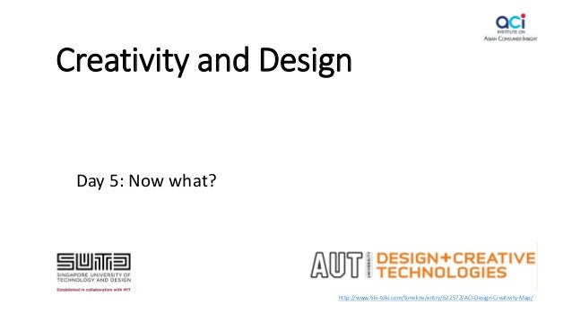 Creativity and Design Day 5: Now what? http://www.tiki-toki.com/timeline/entry/622572/ACI-Design-Creativity-Map/
