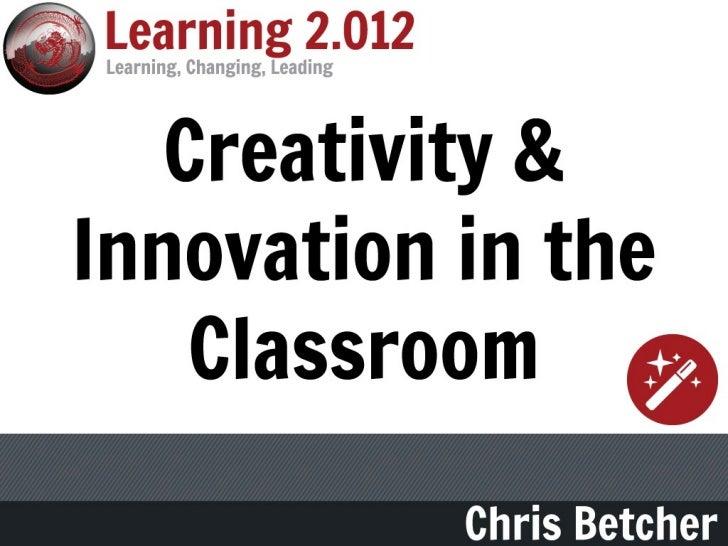 Do schoolskill creativity?
