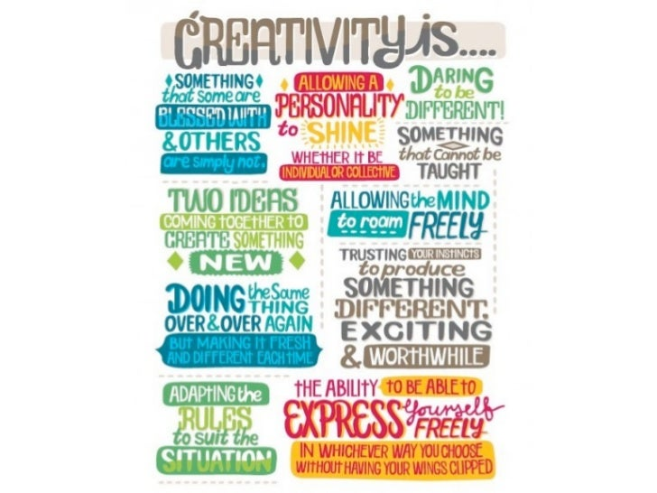 Creativity and innovation in the Classroom