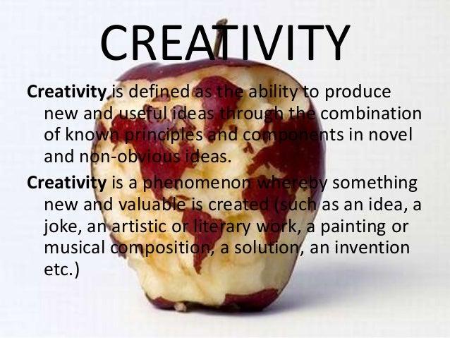 Creativity and innovation Slide 2