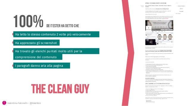The CLEAN GUY 100% dei tester ha detto che Ha letto lo stesso contenuto 2 volte più velocemente Ha apprezzato gli screensh...