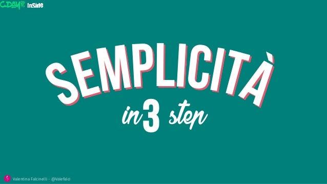 in step3 Valentina Falcinelli - @Valefalci