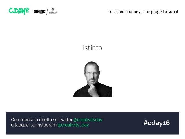 customer journey in un progetto social istinto