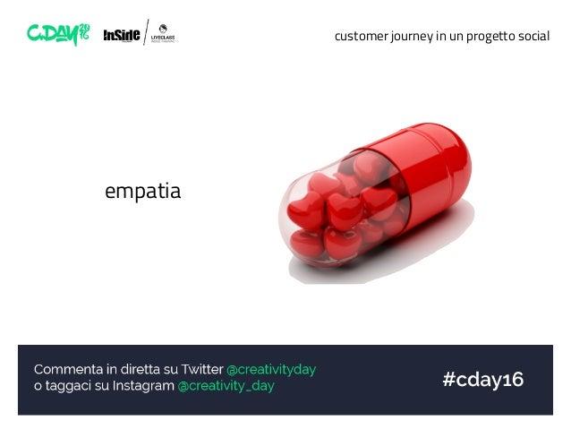 customer journey in un progetto social empatia