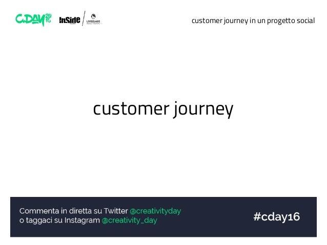 customer journey in un progetto social customer journey