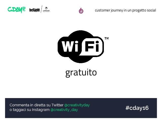 customer journey in un progetto social gratuito