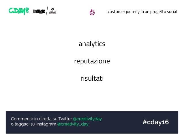 customer journey in un progetto social analytics reputazione risultati