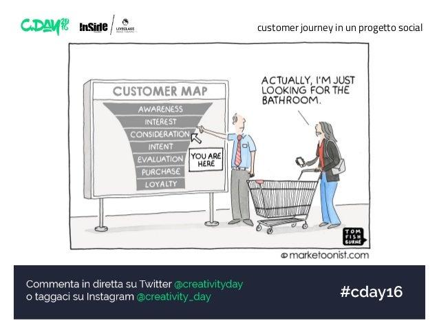customer journey in un progetto social