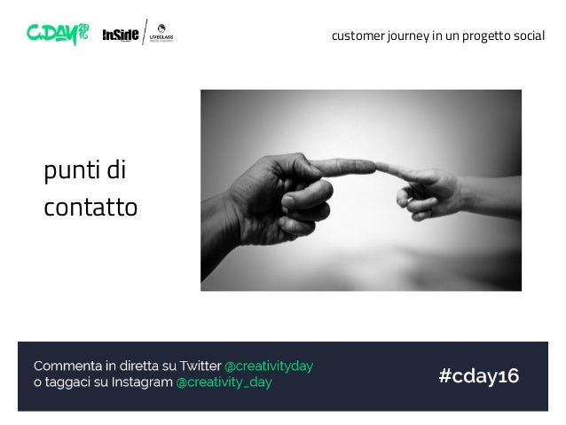 customer journey in un progetto social punti di contatto