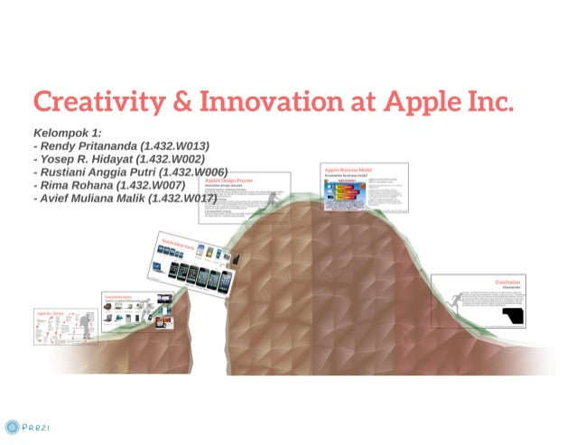 """rules of innovation apple company Seven rules innovation vandewerk bastiaan 560x420 seven rules that  a well  known example would be apple's bhag: """"to democratize."""