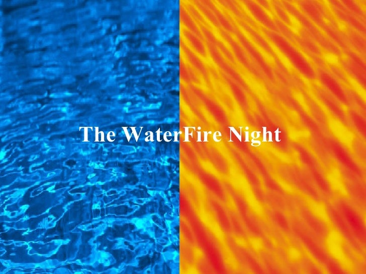 The WaterFire Night
